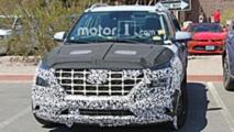 Hyundai compact SUV spy photo