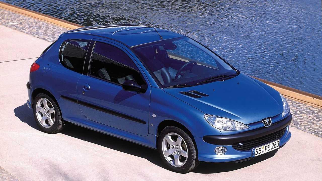 Peugeot 206, le foto storiche