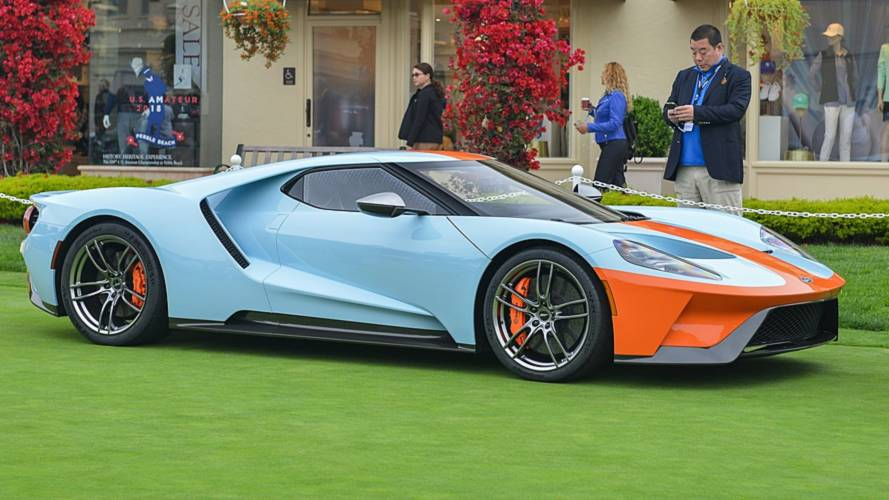 Fast From The Past: Ford GT Heritage Edition Gets Retro Gulf Livery