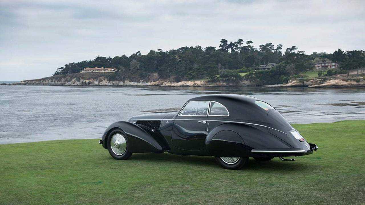 2018 Pebble Beach Kazananı: 1937 Alfa Romeo 8C