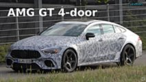 Mercedes-AMG GT 4-Door Coupe prototype spy photos