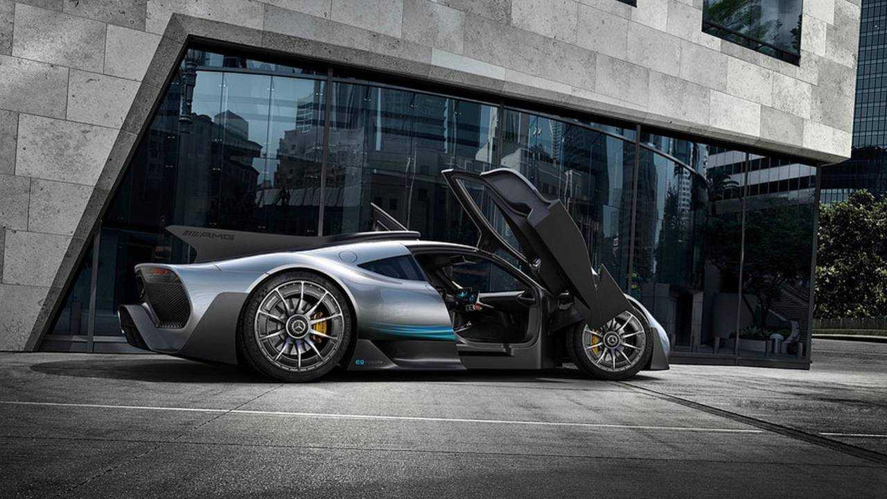 Mercedes-AMG ONE - más de 1.000 CV