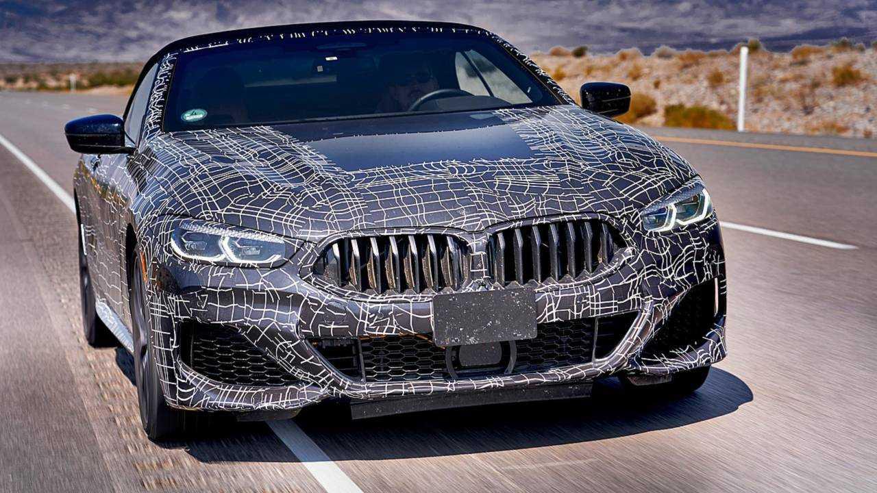 BMW 8 Series Convertible teaser