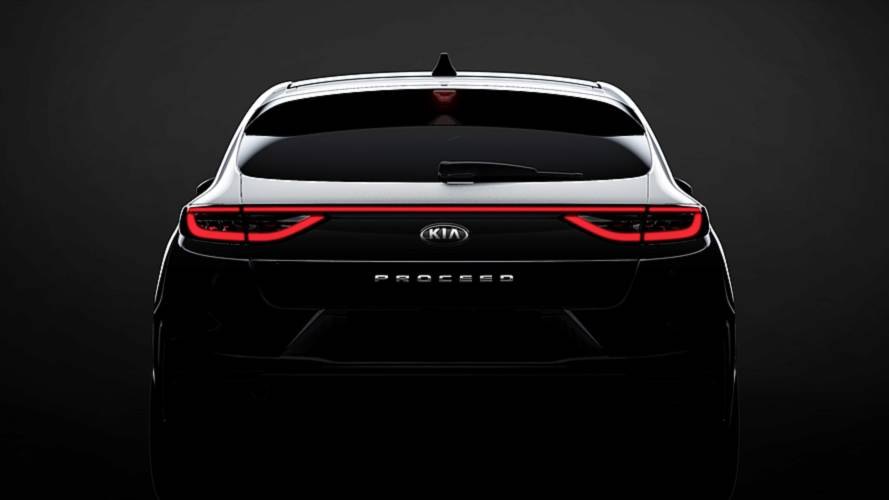 Teaser KIA ProCeed 2019, un familiar diferente