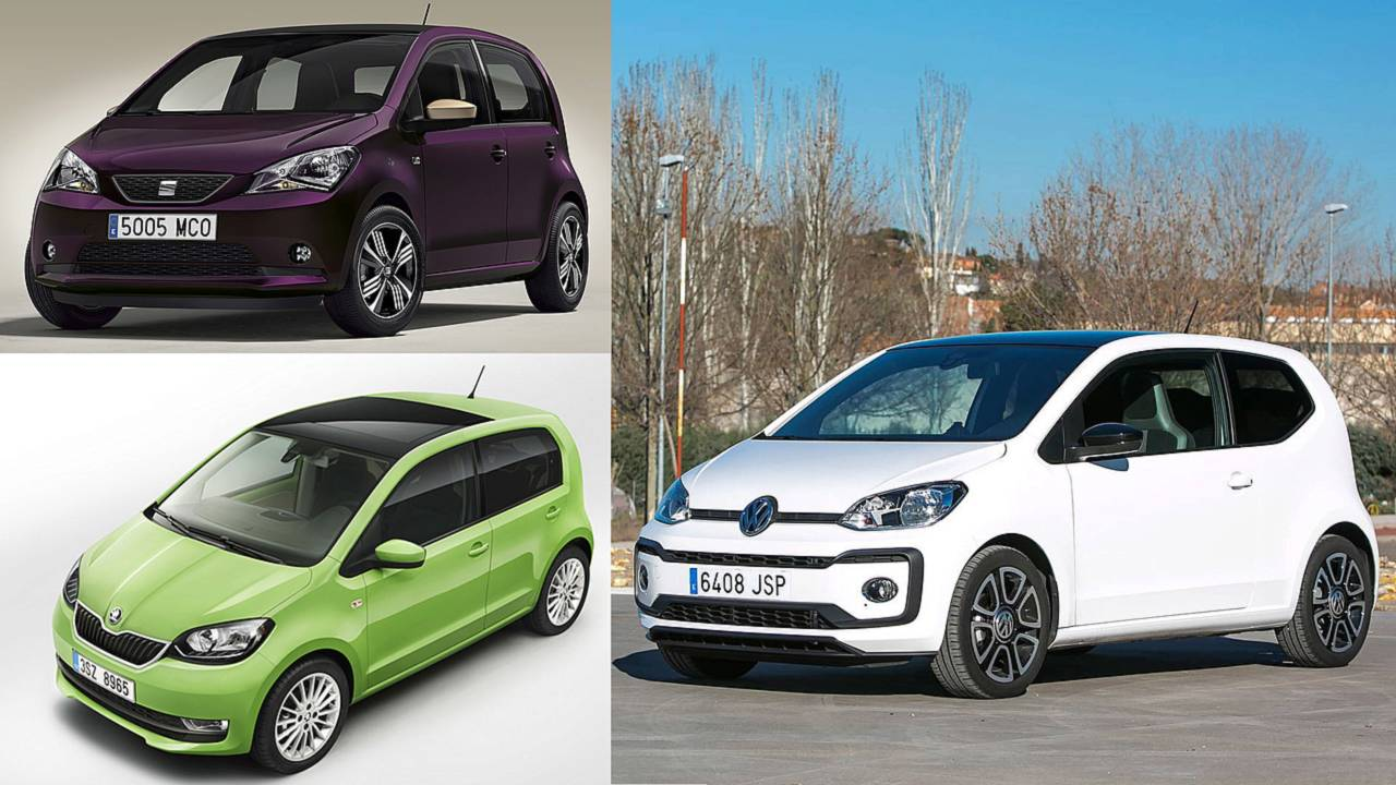 SEAT Mii / Skoda Citigo / Volkswagen Up!