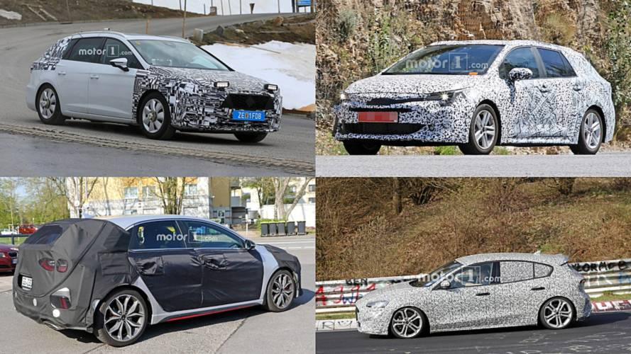 Fotos espía de 5 nuevos compactos que llegarán en 2019