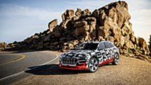 Audi E-Tron prototype at Pikes Peak