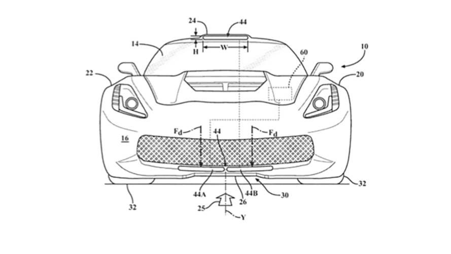 Chevy Corvette Active Aero Patents