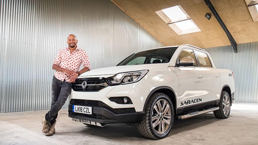 Car SOS star Fuzz Townshend becomes SsangYong ambassador