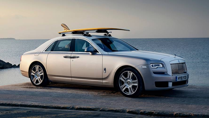 Rolls-Royce Ghost gets bespoke surfboard