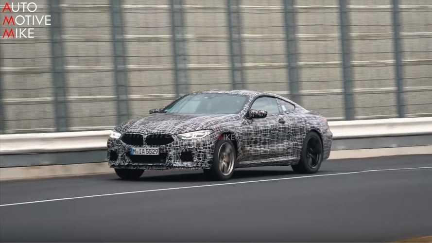 VIDÉO - La BMW M8 se déchaîne sur l'Enfer Vert