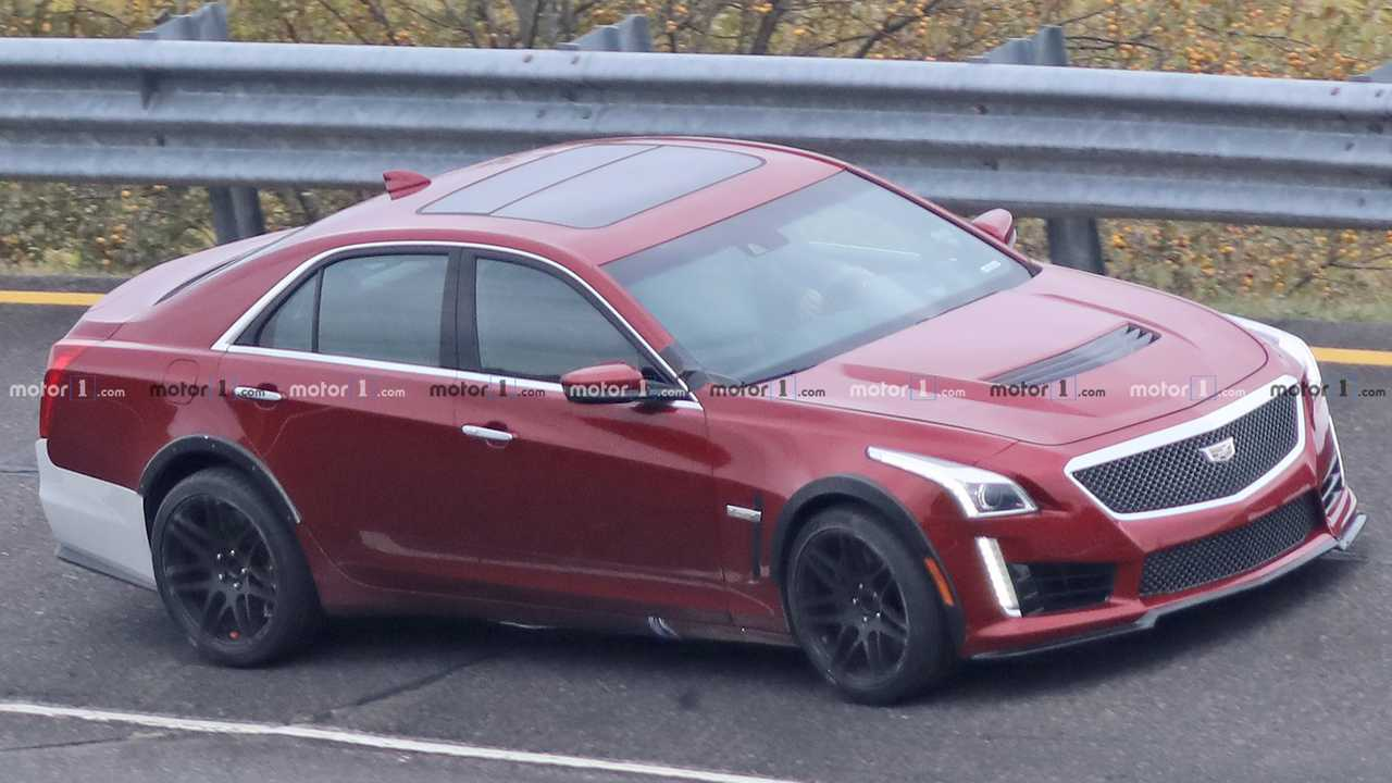 Cadillac CT5-V Or Widebody CTS-V Spied In Mysterious Photos