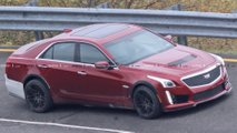 Cadillac CT5-V or widebody CTS -V Spy Shots