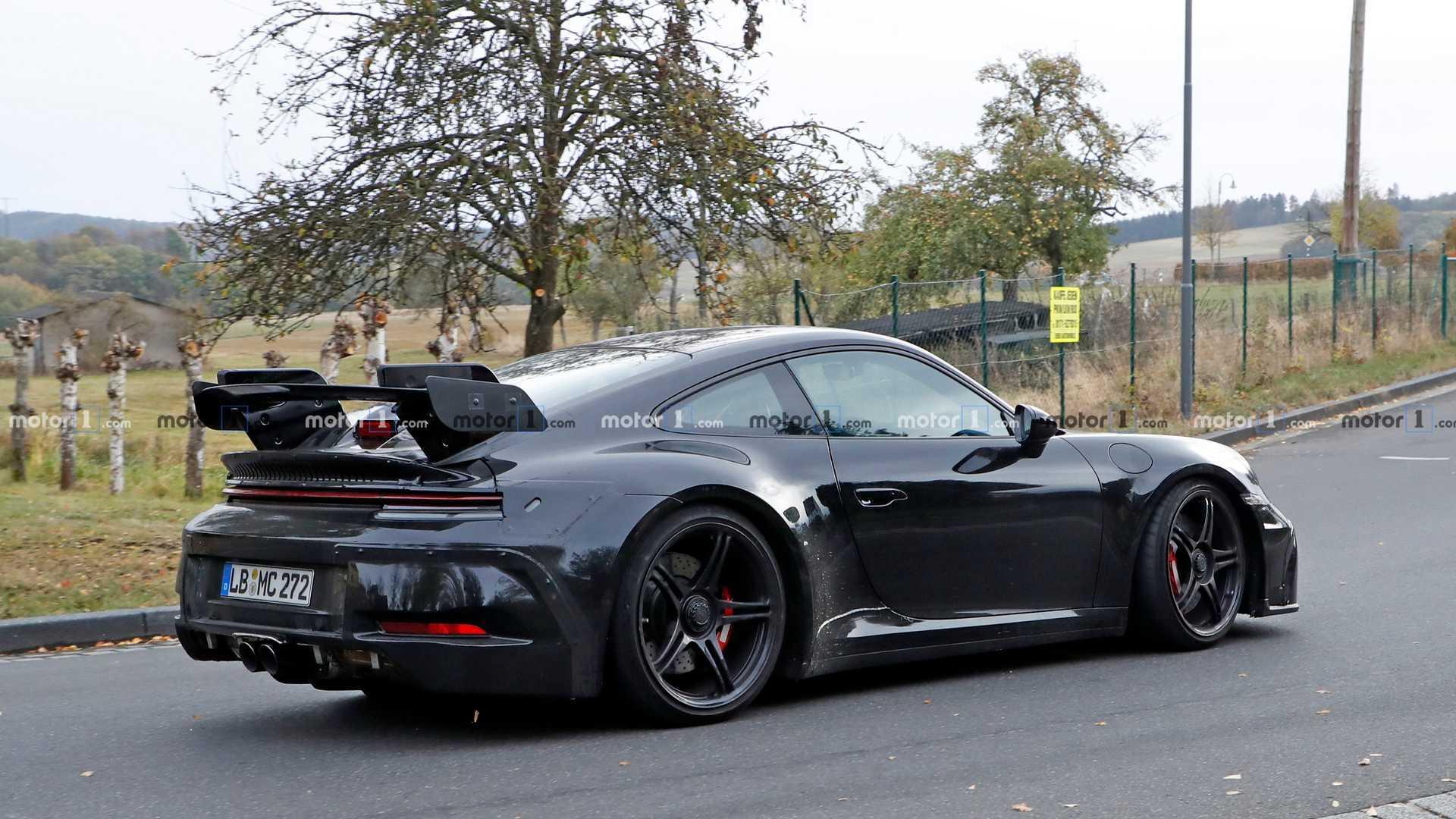Porsche 911 Gt3 Spied On Video Making A Wonderful Sound