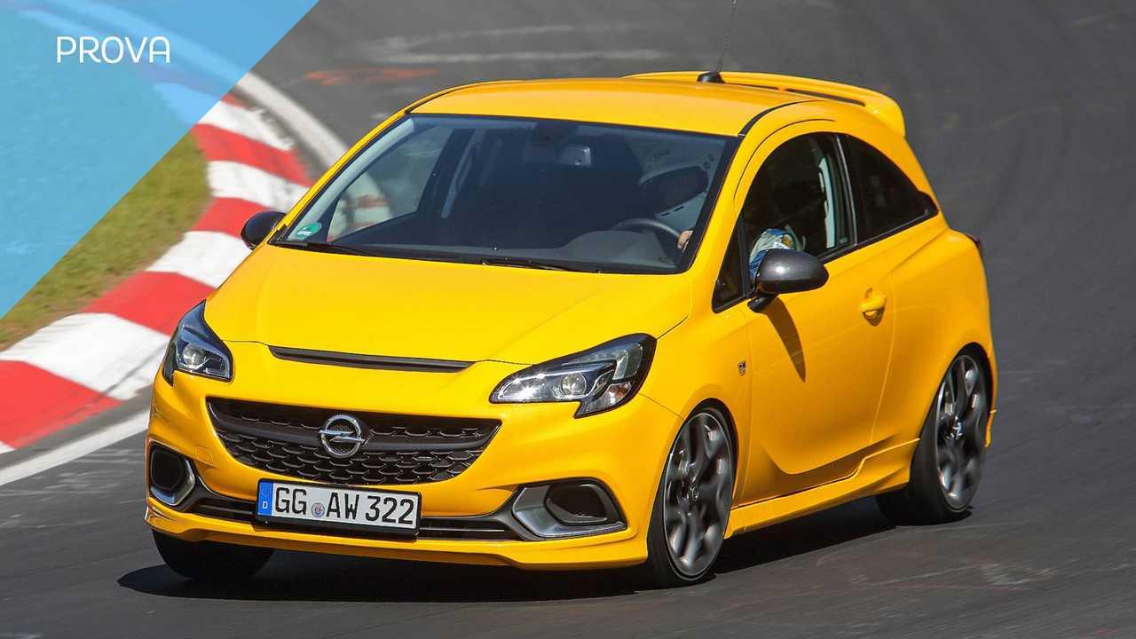 Opel Corsa GSi, la prova