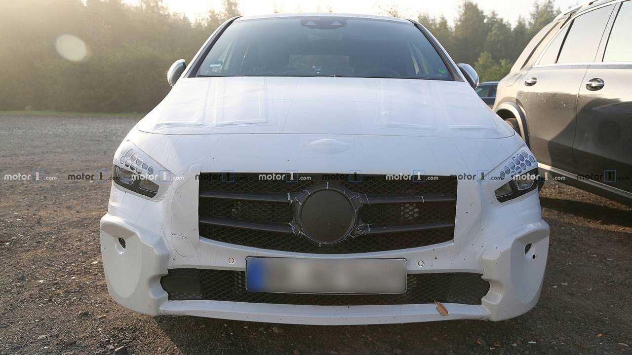 2019 Mercedes B-Serisi casus fotoğraflar
