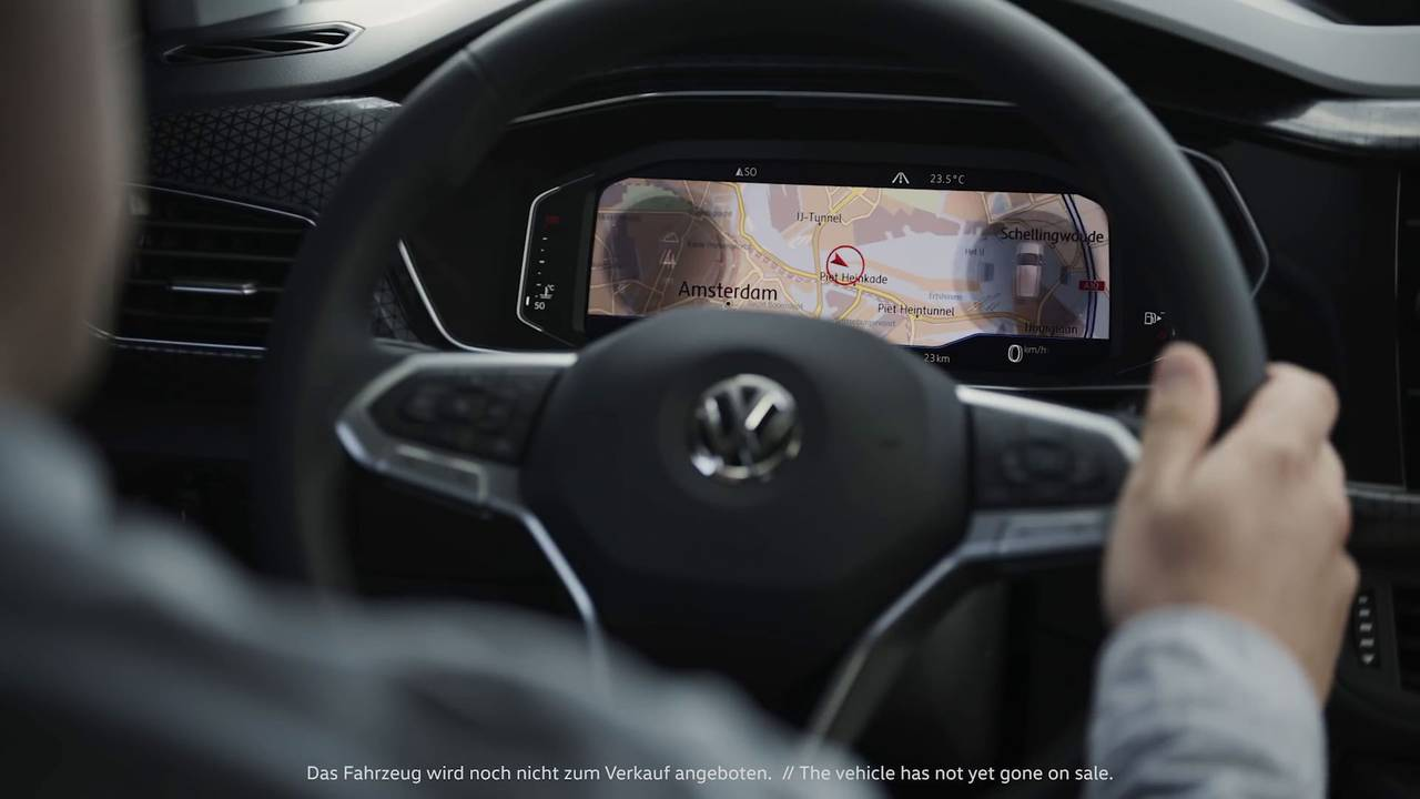 Volkswagen T-Cross - Teaser do interior