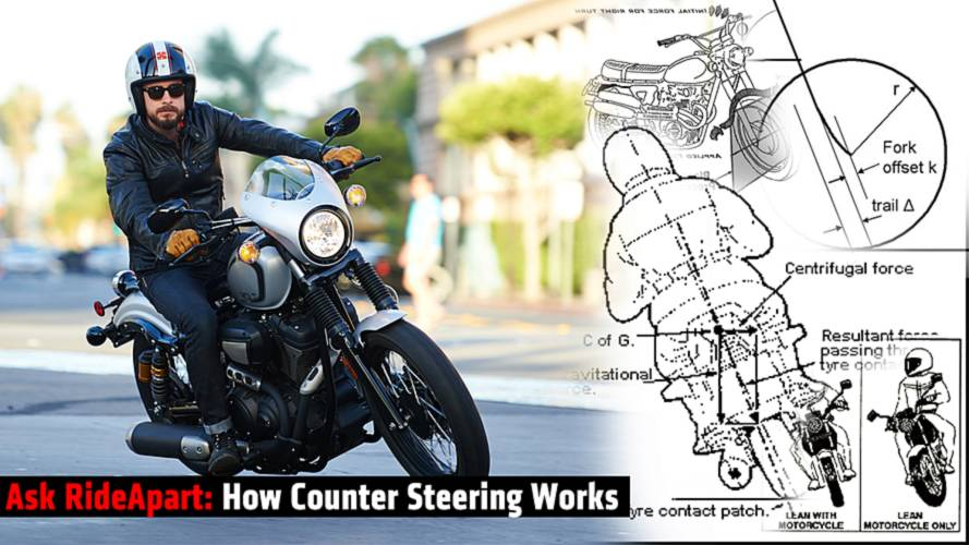 Ask RideApart: How The Hell Does Counter Steering Work?