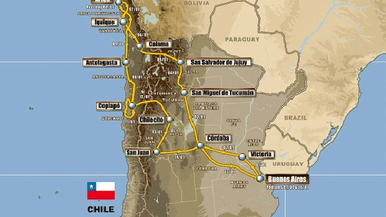 Dakar adds Peru for 2012