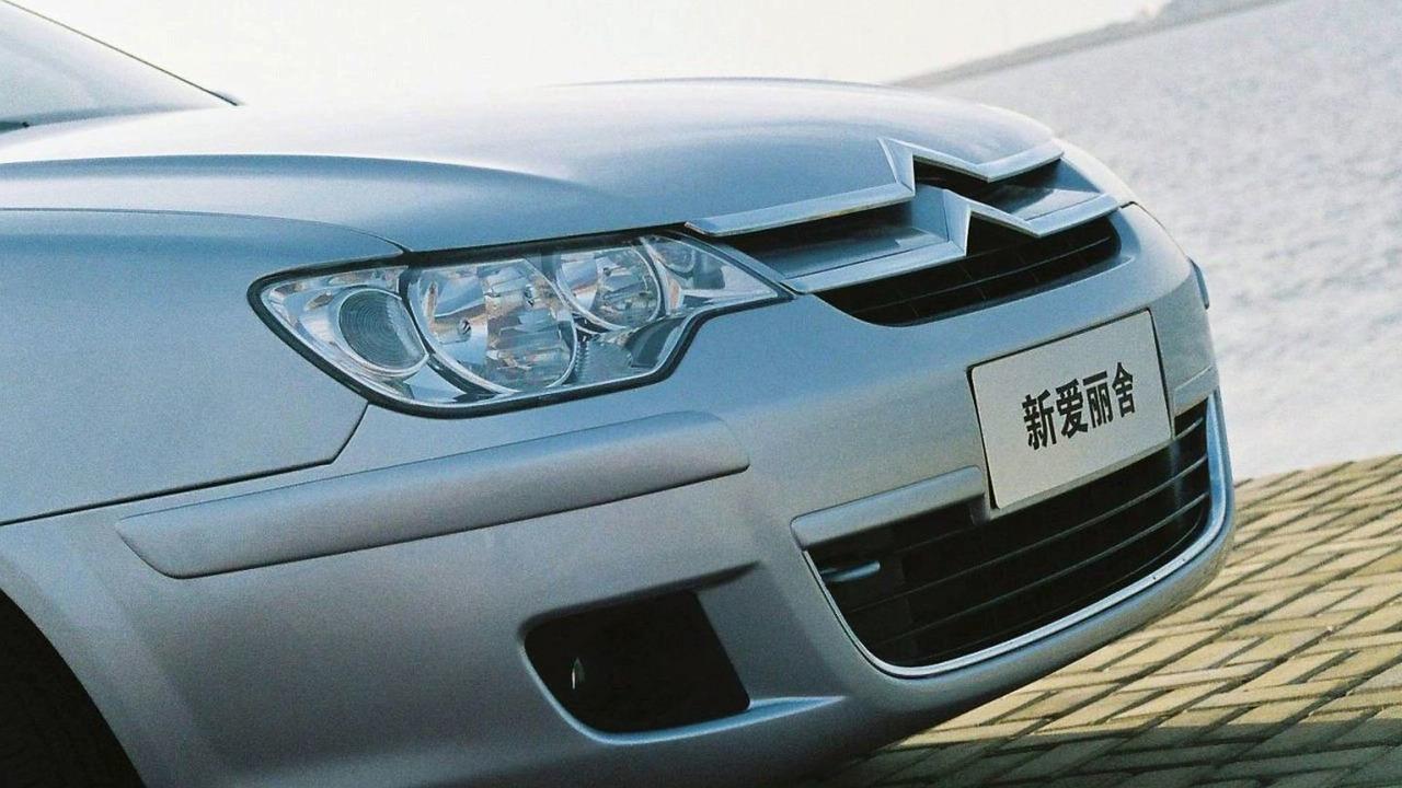 Citroen C-Elysee for China