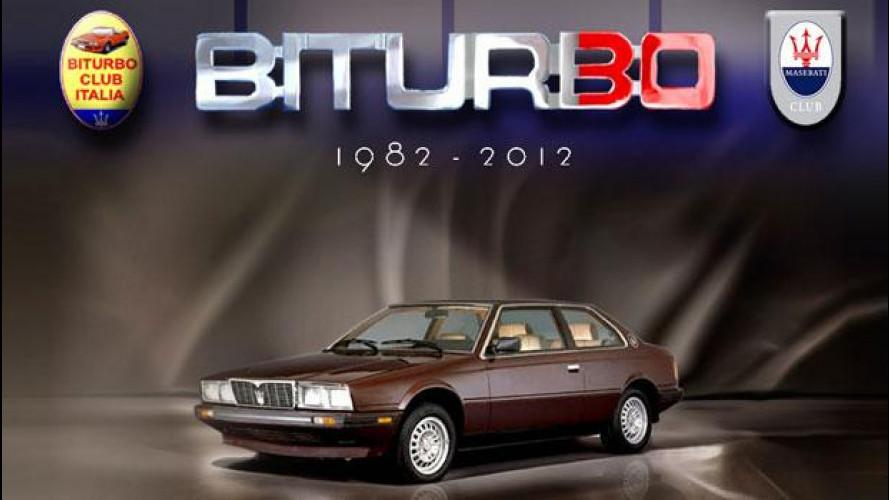 Maserati Biturbo, il 23 e 24 Giugno a Modena un raduno ne celebra i 30 anni