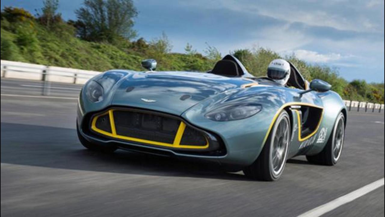 [Copertina] - L'Aston Martin CC100 Speedster diventa un'auto da strada per un cliente speciale