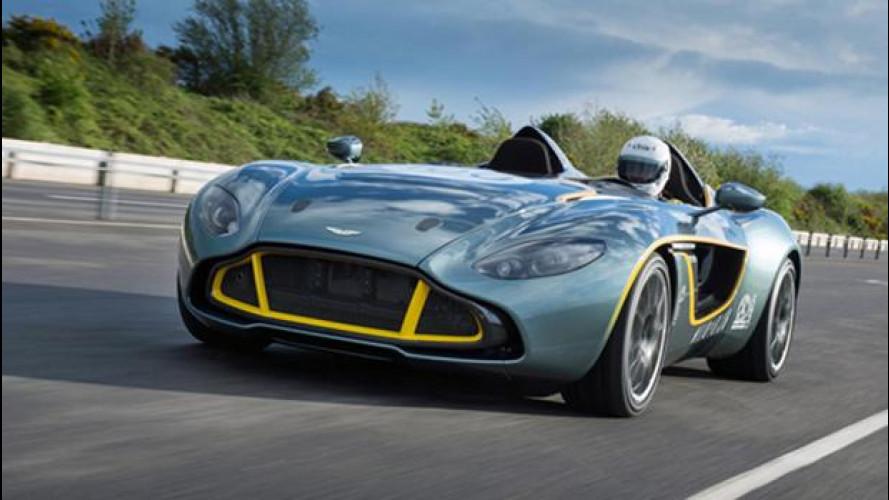L'Aston Martin CC100 Speedster diventa un'auto da strada per un cliente speciale