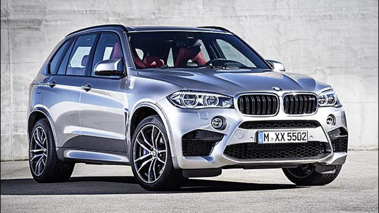 [Copertina] - Nuova BMW X5 M, esagerata per natura