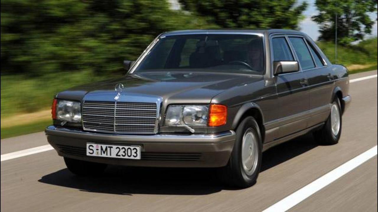 [Copertina] - Mercedes Classe S, l'ammiraglia nella storia