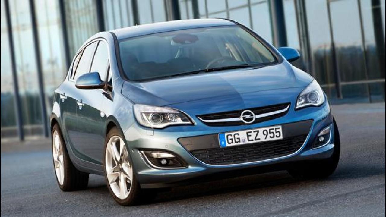 [Copertina] - L'Opel Astra facelift debutterà al Salone di Mosca