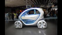 Renault Twizy Z.E. Concept al Salone di Francoforte 2009