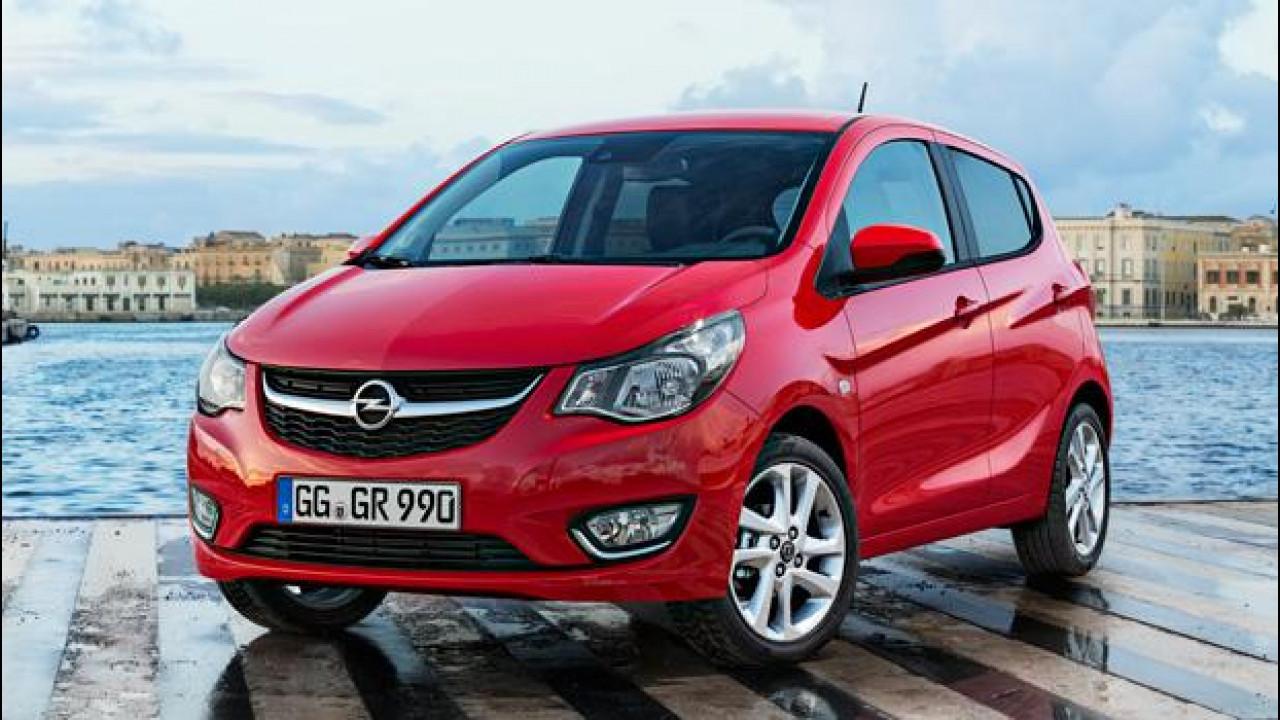 [Copertina] - Opel Karl, la piccola sotto i 10.000 euro