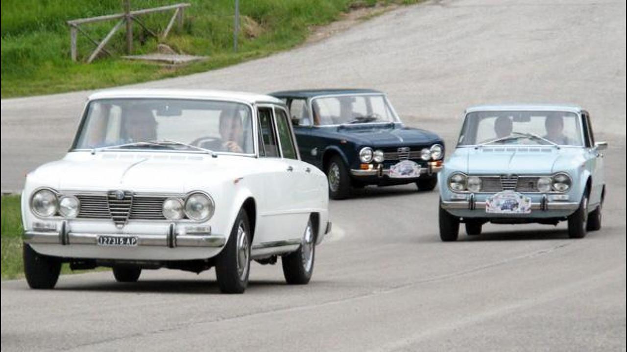 [Copertina] - Storia dell'Alfa Romeo Giulia, parte seconda