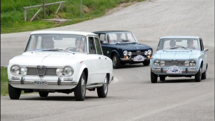 Storia dell'Alfa Romeo Giulia, parte seconda