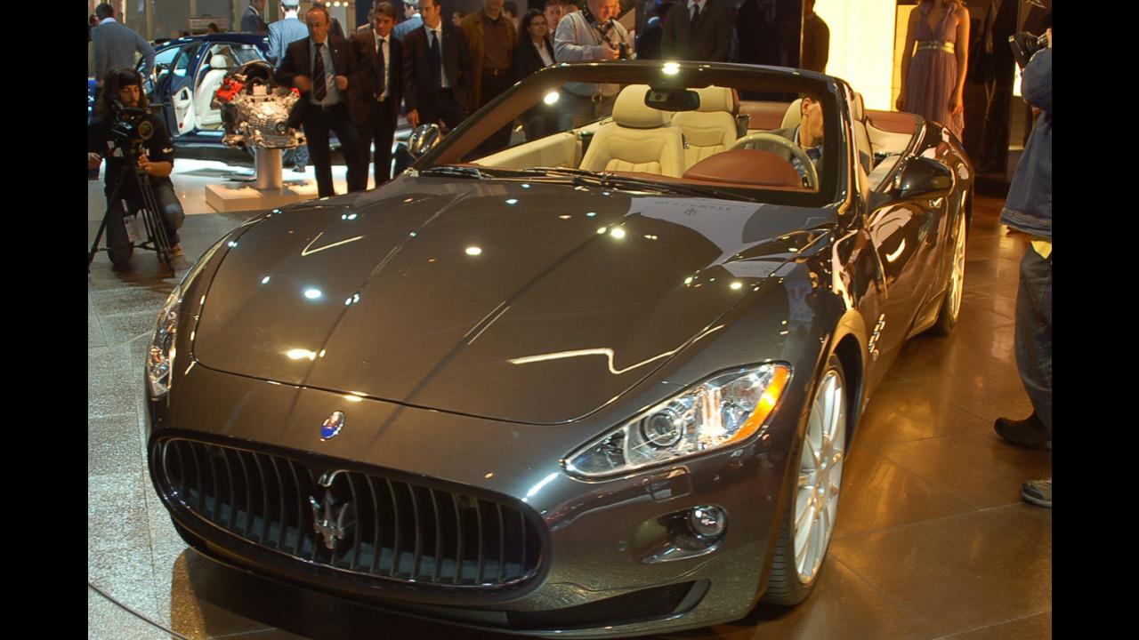 Maserati GranCabrio al Salone di Francoforte 2009
