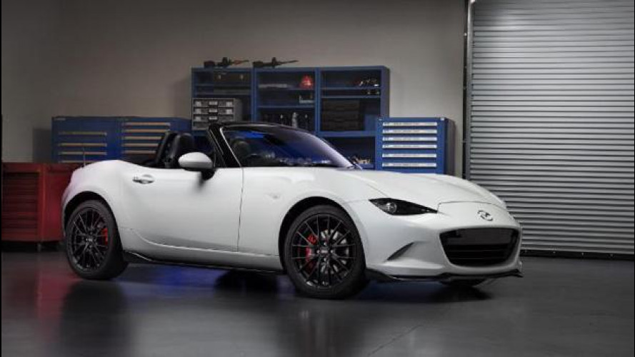 Mazda MX-5 accessories design, più sportività per la spider