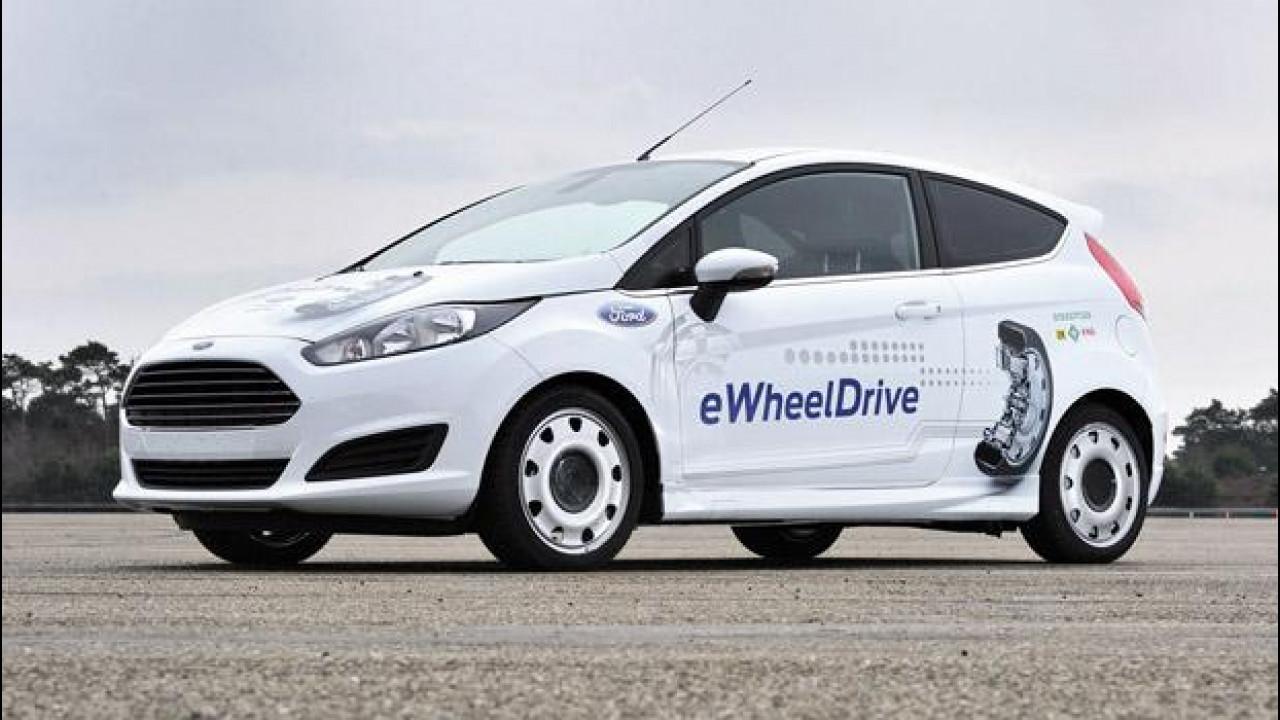 [Copertina] - Schaeffler Ford Fiesta E-Wheel Drive