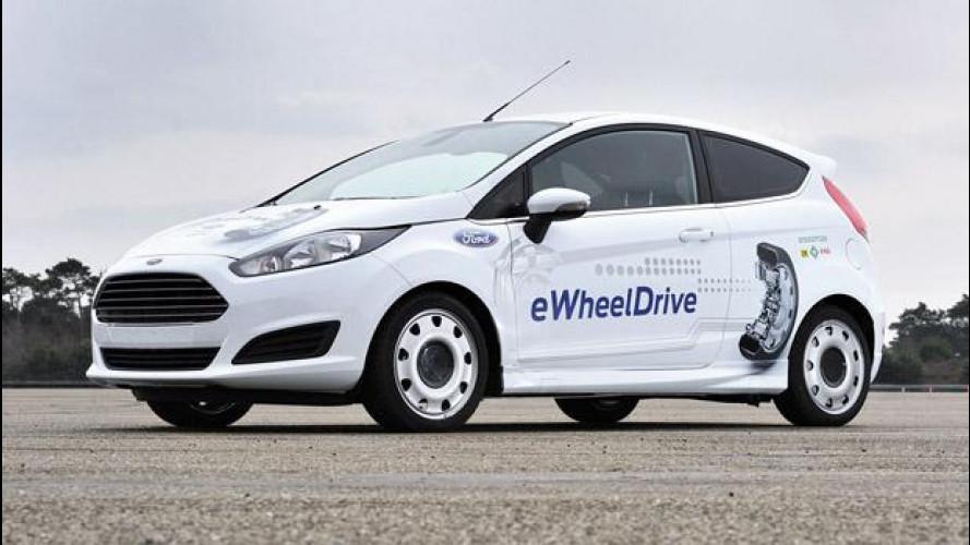 Schaeffler Ford Fiesta E-Wheel Drive