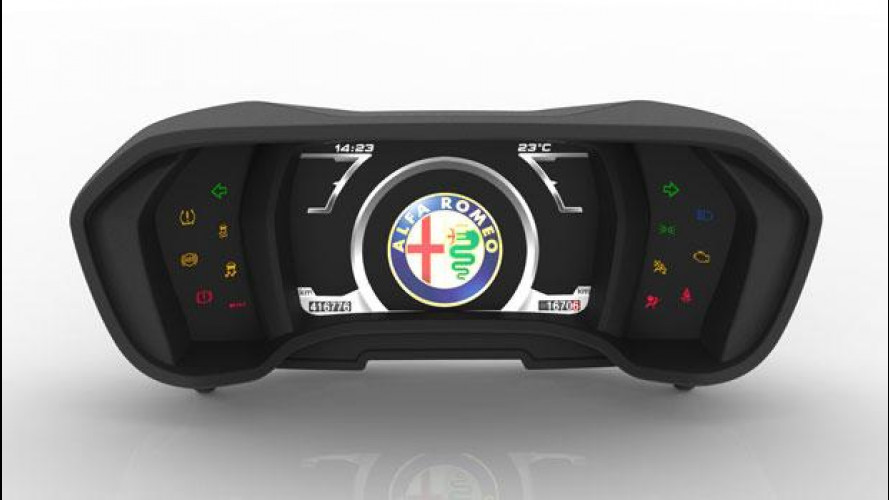 Alfa Romeo 4C, com'è fatto il quadro strumenti digitale