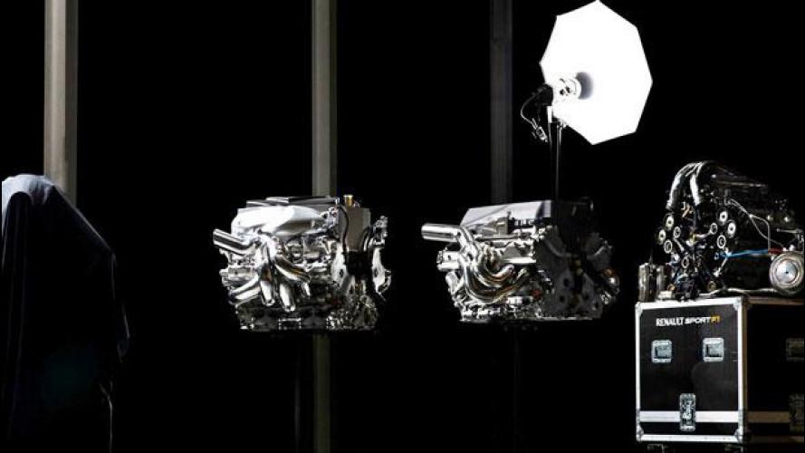 Renault: presentato il nuovo motore turbo per la Formula 1 2014