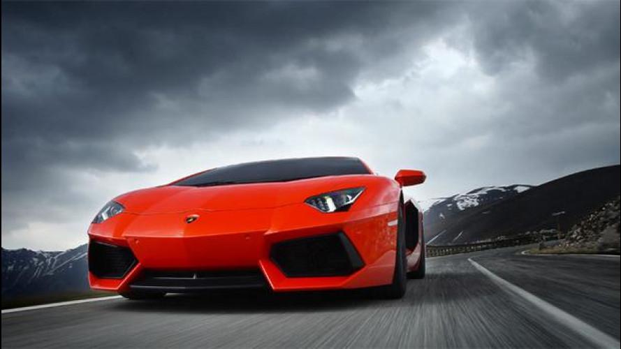 Lamborghini non conosce crisi e festeggia 50 anni