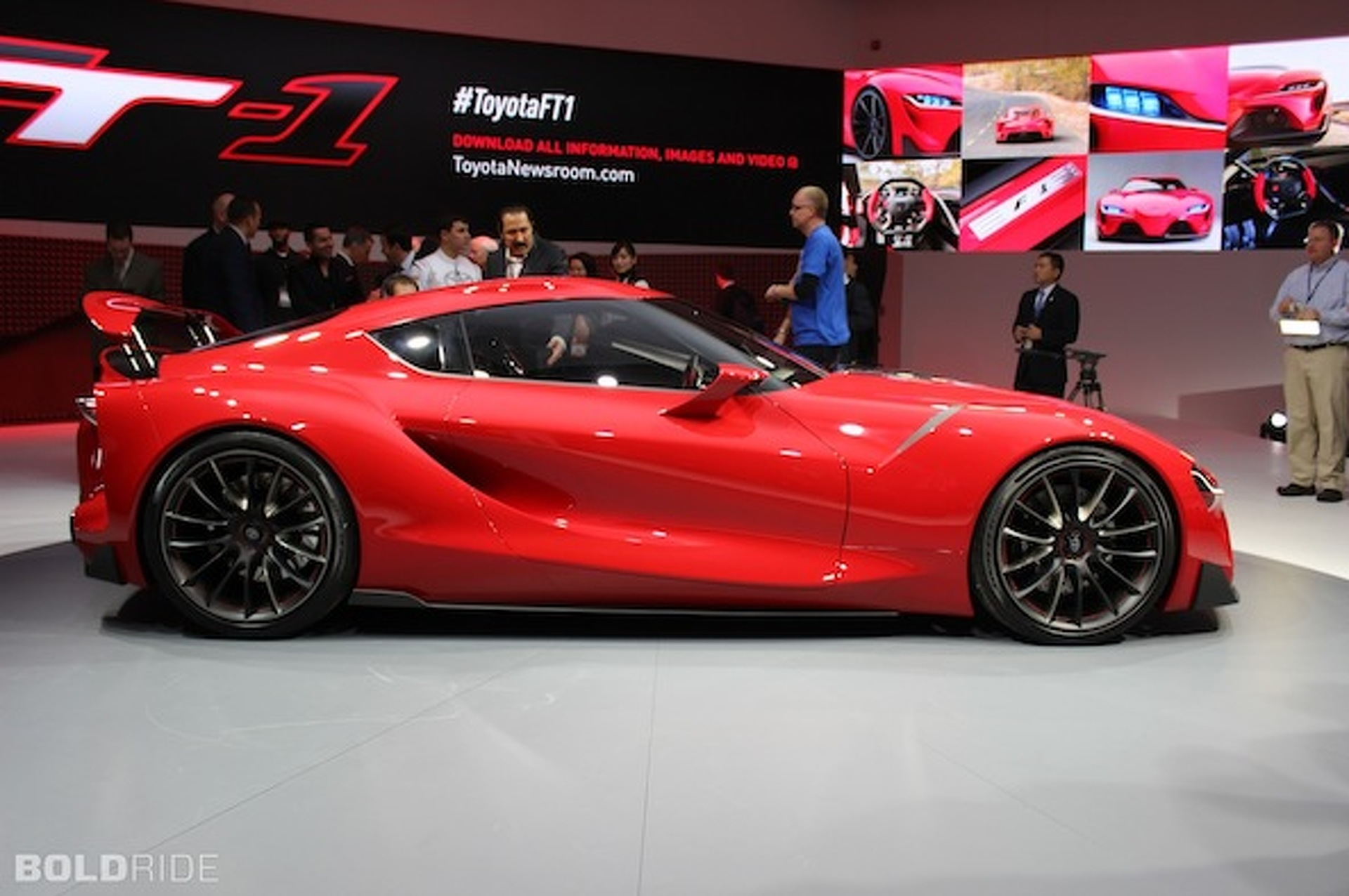 Toyota Ft 1 >> Toyota Ft 1 Concept Is A New Supra In Disguise