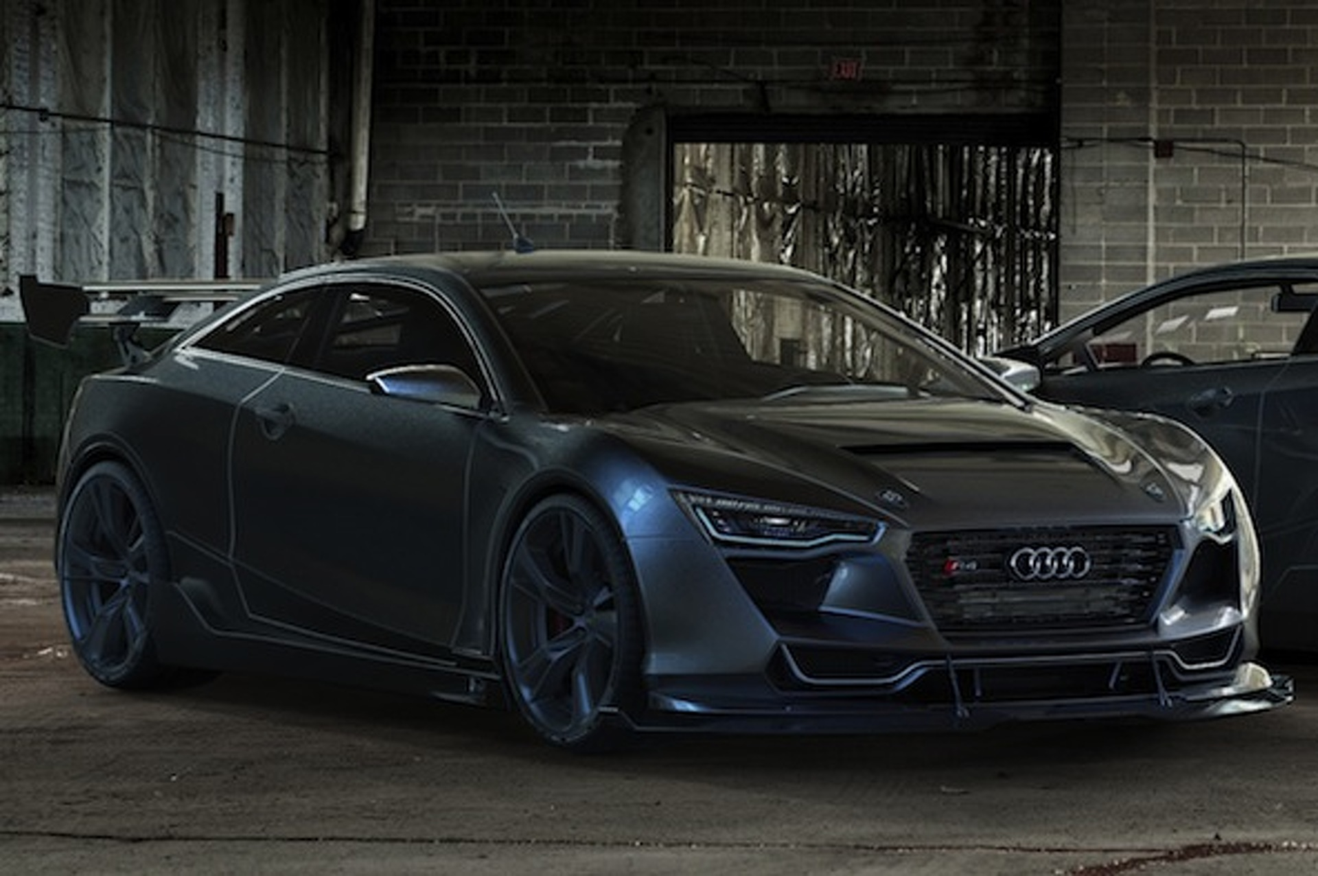 Audi R Concept Coupe Is So Pretty It Hurts - Audi r4