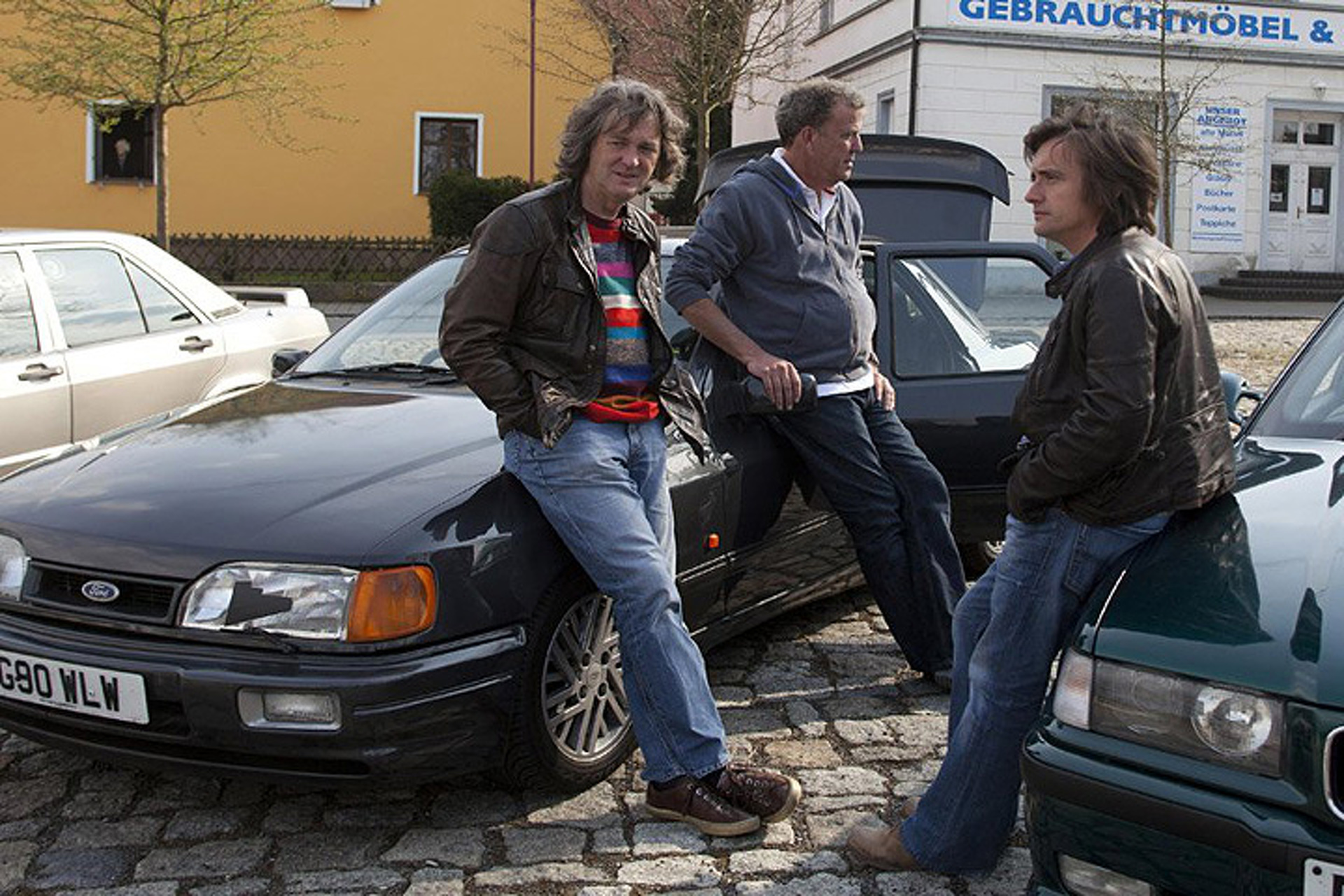 you can buy jeremy clarkson s ford sierra from top gear