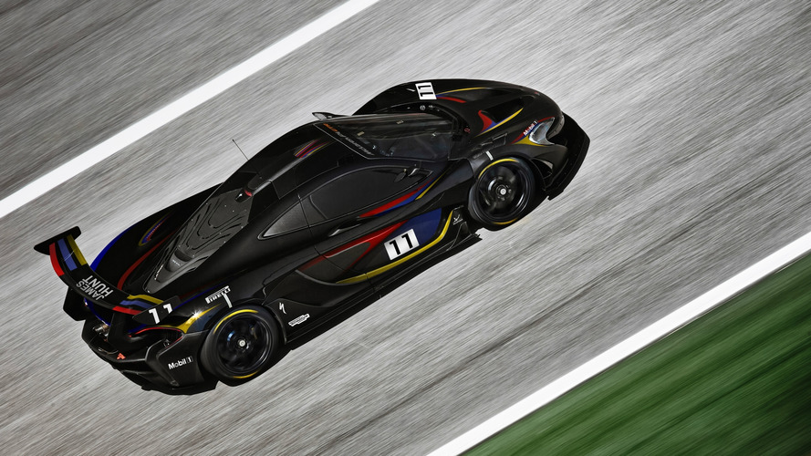 McLaren P1 GTR with James Hunt-inspired livery to debut at Goodwood