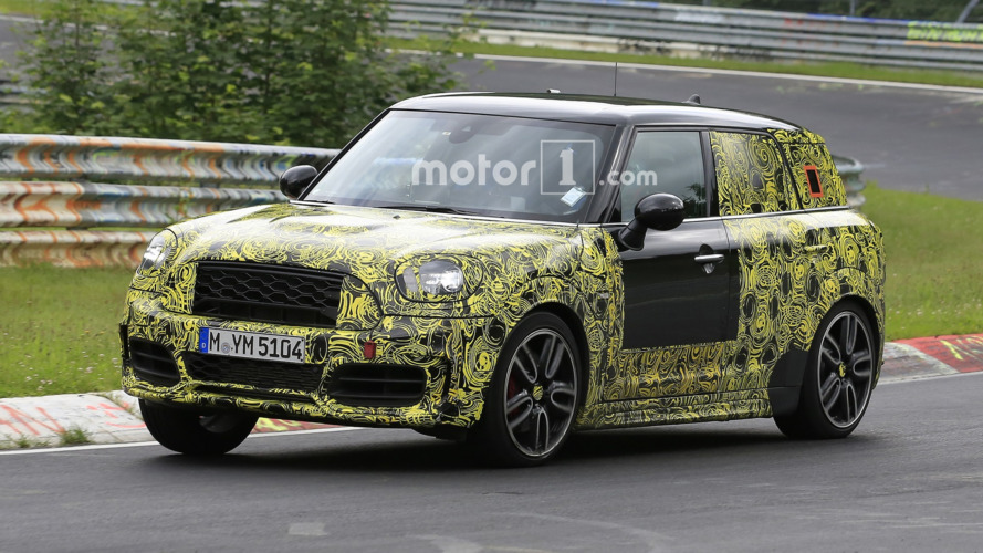 Mini Countryman JCW spy photos