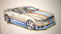 2017 Richard Petty Mustang