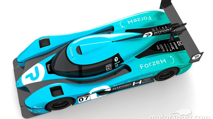 Dutch students present design for hydrogen-powered LMP3 racer