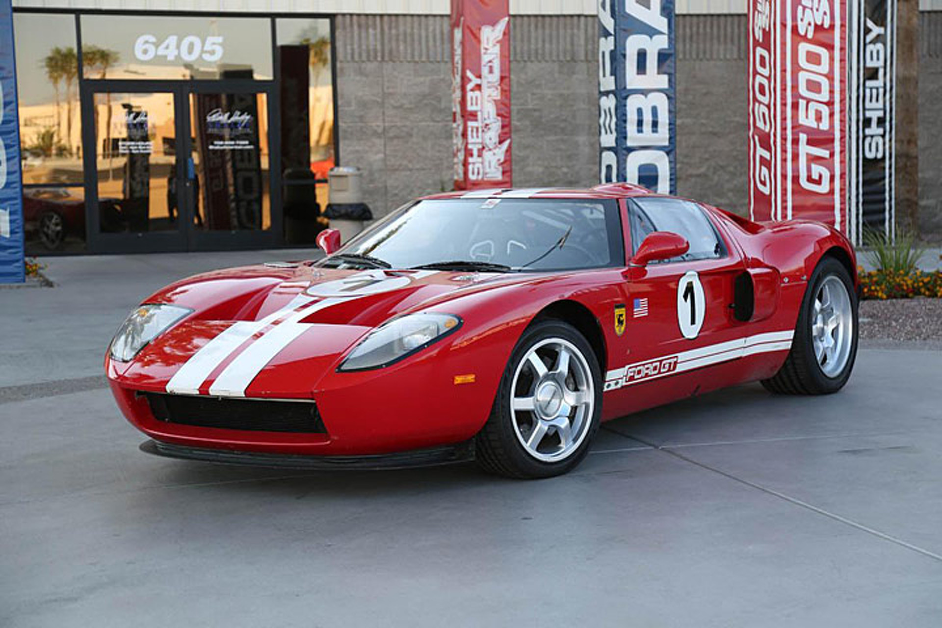 Shelby American Is Selling The Original Ford Gt Prototype Rh Motor Com