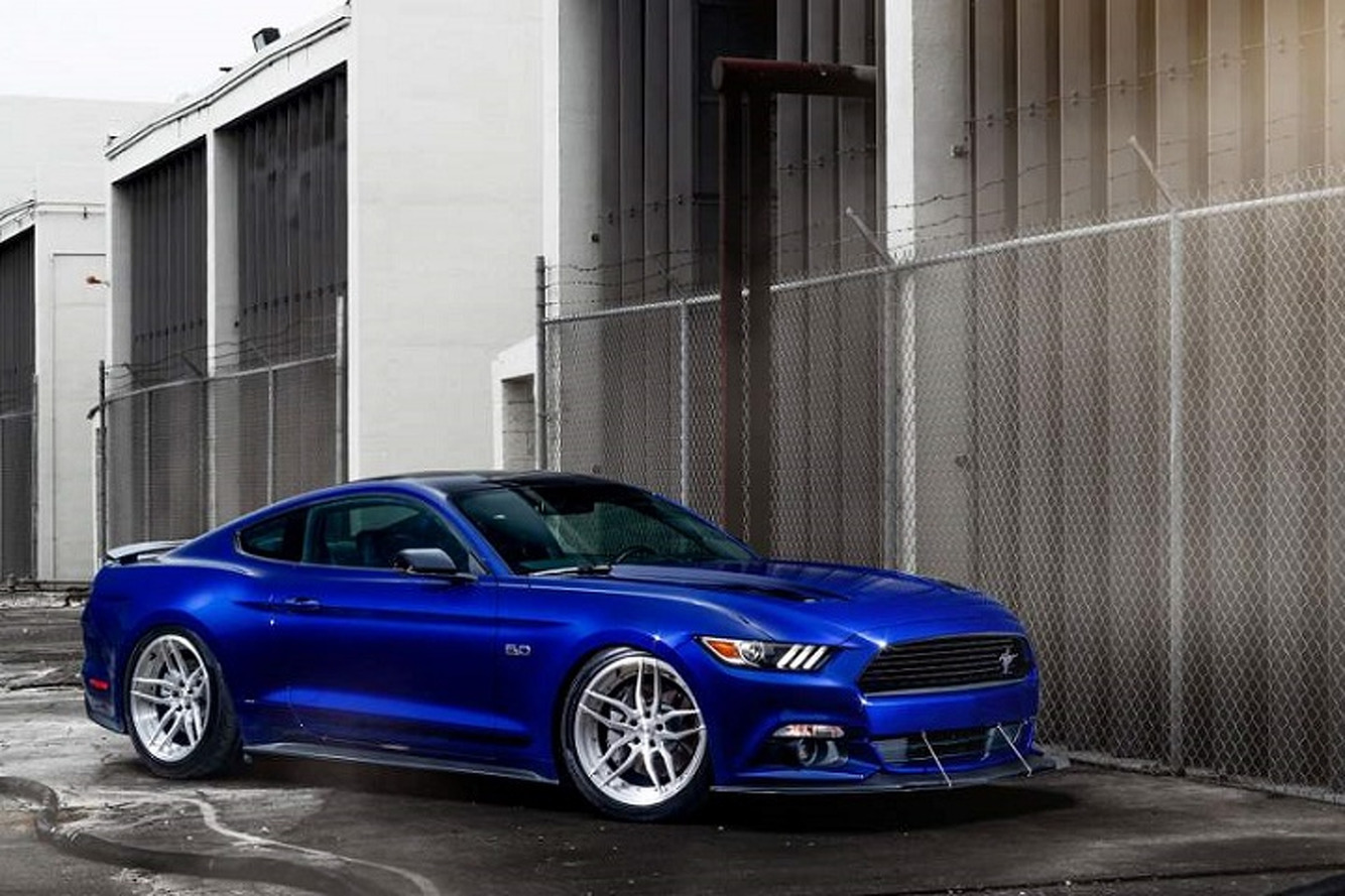 """ADV.1's """"Blue Devil"""" Ford Mustang Is Demonically Cool"""